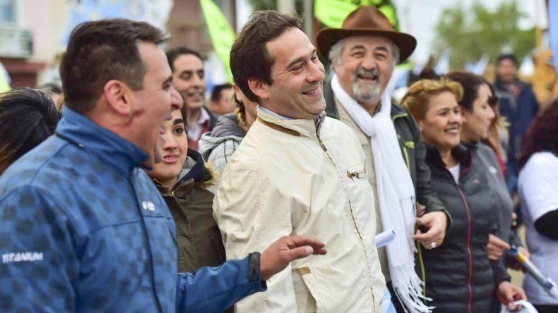 Juan Pablo Luque junto a su compañero de fórmula Othar Macharashvili.