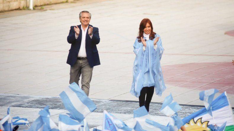 Alberto y Cristina casi duplicaron en votos a Macri en Chubut