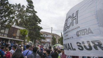 docentes de comodoro rechazaron la propuesta del gobierno