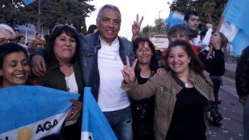En Cañadón Seco se impuso Jorge Soloaga y será por otros cuatro años presidente de la comisión de fomento.