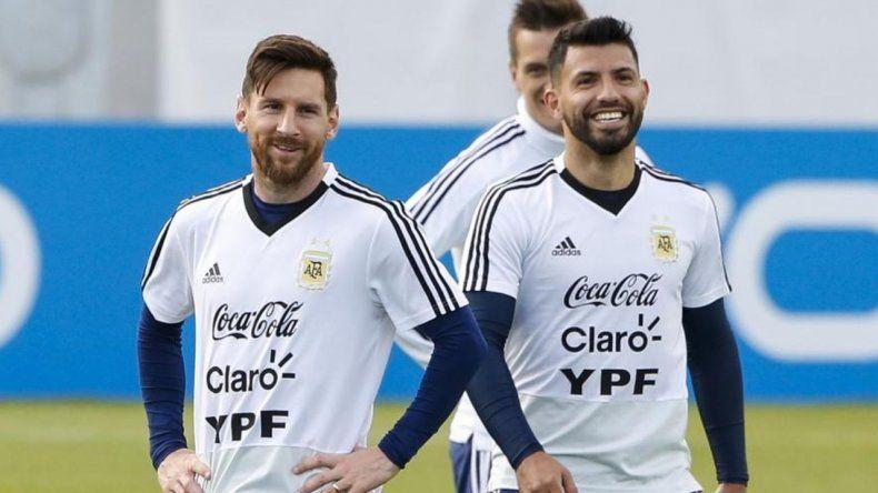 Vuelven Messi y Agüero a la selección argentina