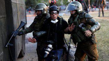 Detuvieron a un fotógrafo argentino en Chile