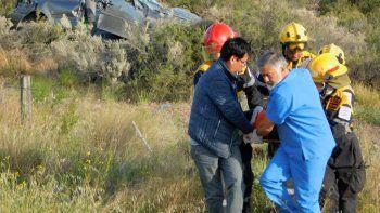 Murió un hombre tras sufrir un accidente en Ruta 25