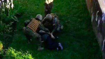 Encarcelan a un militar chileno que baleó a quemarropa a un civil indefenso