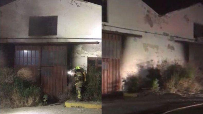 Se incendiaron galpones de YPF en KM 3