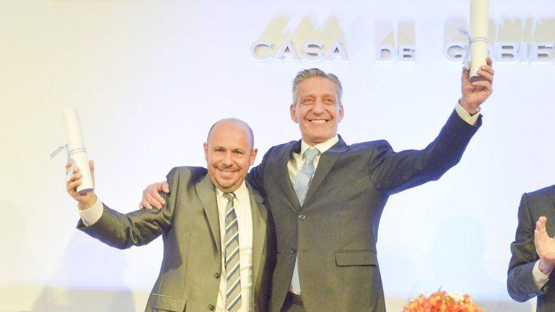 Arcioni presenta el jueves al nuevo gabinete