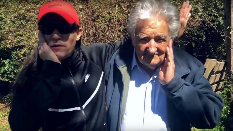 El imperdible encuentro entre Mala fama y Pepe Mujica