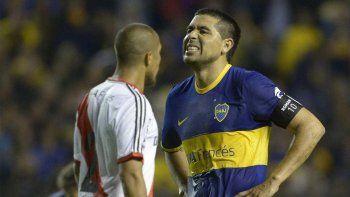 Riquelme aseguró que no se hubiera animado a jugar el Superclásico de la Libertadores