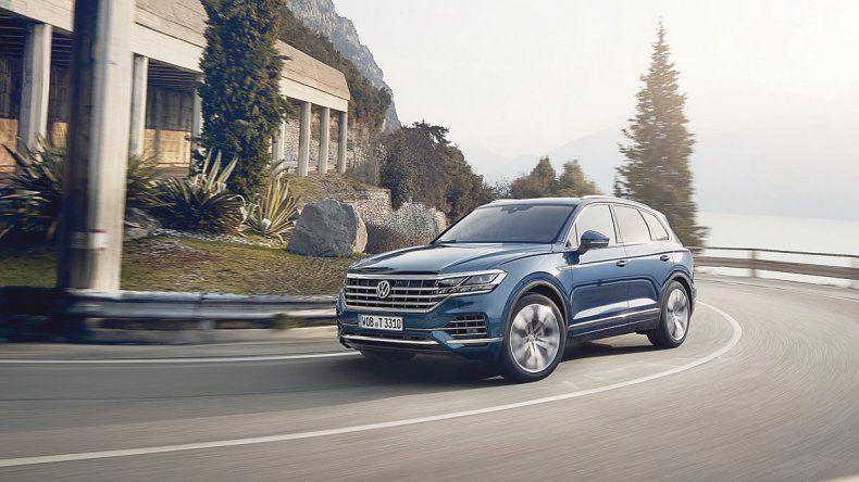 Volkswagen Touareg: SUV de lujo recargado
