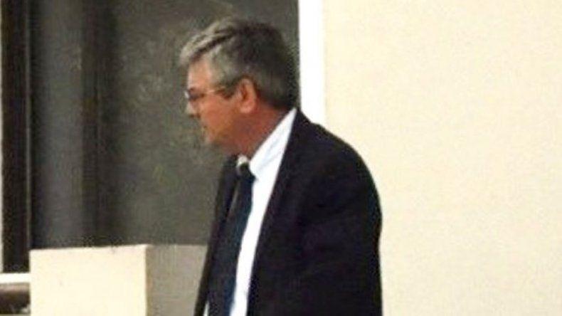 El contralmirante Eduardo Luis Malchiodi se retiró de Juzgado Federal de Caleta Olivia a las 16:10 sin prestar declaración indagatoria.