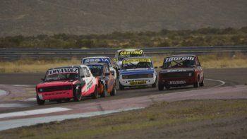 El TP 1.100 cc es una de las cinco categorías que estarán esta tarde girando en el autódromo General San Martín.