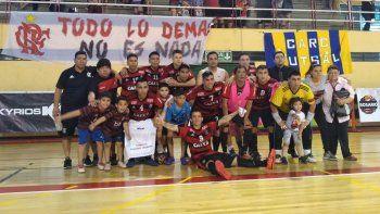 Foto:Flamengo Futsal Comodoro Rivadavia.