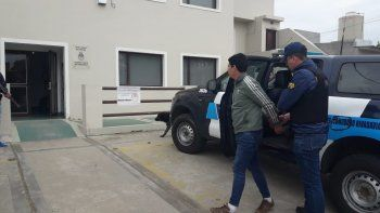 desde buenos aires llegaron los 7 detenidos al juzgado de caleta