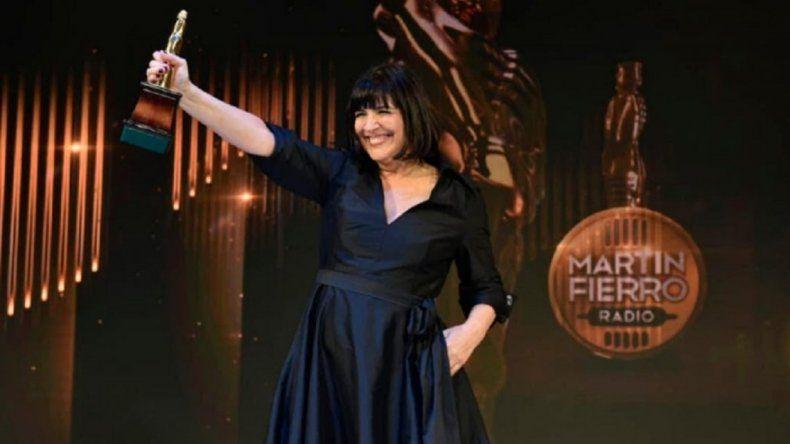 Vernaci, la primera mujer en ganar el Martín Fierro de Oro de Radio