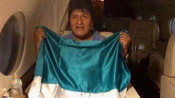 Evo Morales llega hoy a México