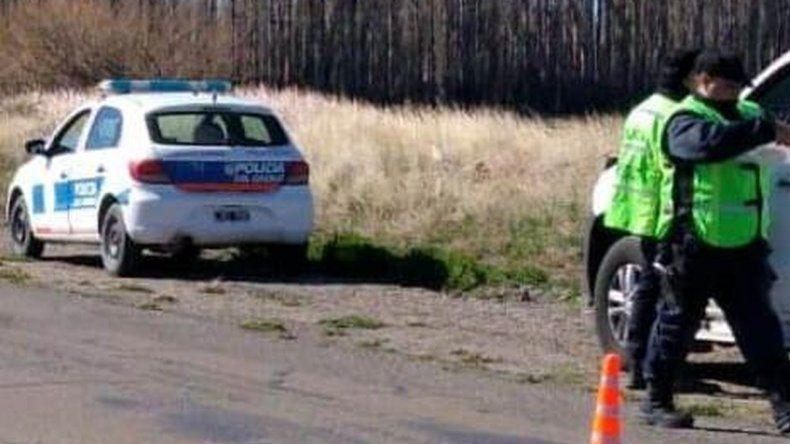 Se escapó de la policía en la camioneta de su padre