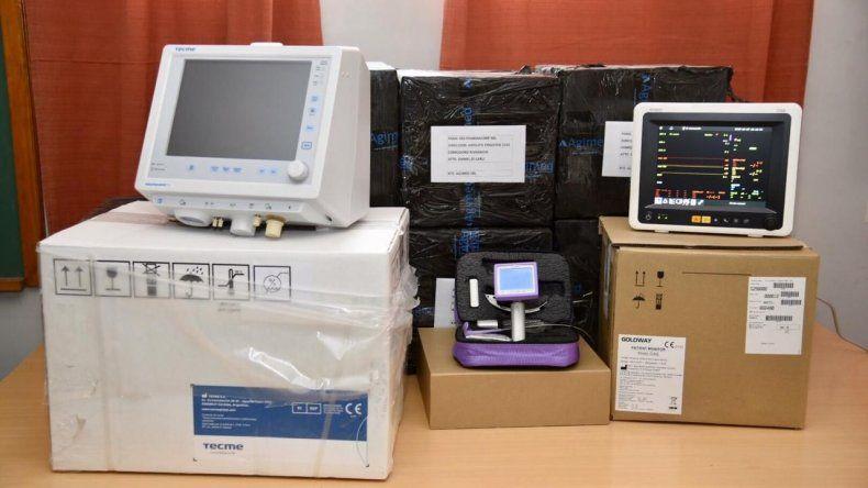 PAE entregó equipamiento para hospitales de Comodoro y Rada Tilly
