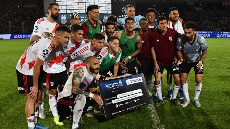 River Plate ganó y jugará la final de la Copa Argentina