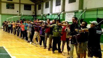 el club de tiro con arco petroquimica a una final nacional