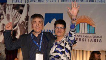 Hugo Rojas fue reelecto por otros cuatro años como rector de la UNPA, esta vez acompañado por Roxana Puebla como vicerrectora.