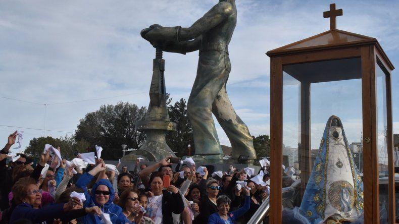 Conmemoraron los 40 años de la llegada de la Virgen de Valle