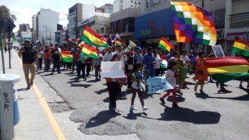 marchan para repudiar crimenes de la dictadura