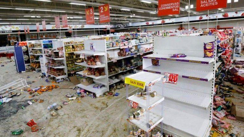 Walmart demandó a Chile por los saqueos en sus súpers