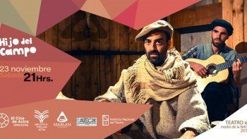 Festival Teatro en el medio de la nada  presenta Hijo de campo