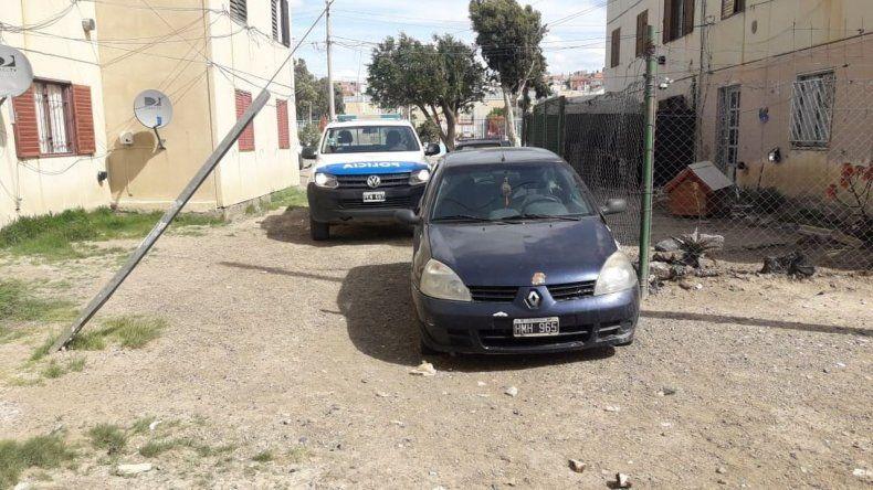 Encontraron un auto robado en las 1.008