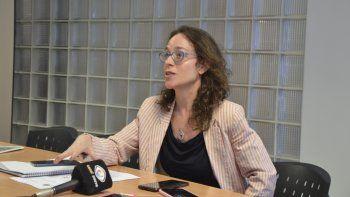 Valeria Coniglio, titular de la Oficina de Derechos y Garantías de la Niñez.