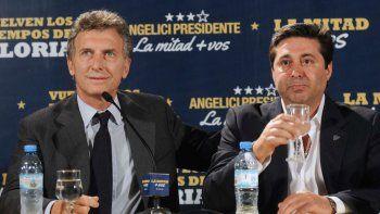 Riquelme va contra el candidato de Macri en Boca