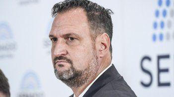 Luis Tagliapietra, abogado querellante y padre de uno de los submarinistas fallecidos.