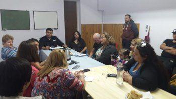 vecinales de zona norte mantuvieron una reunion por seguridad
