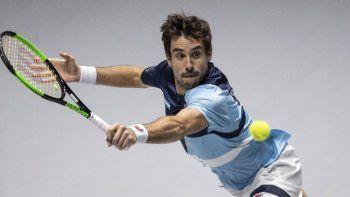 El bahiense Guido Pella es uno de los integrantes del equipo argentino de Copa Davis que todavía sigue en competencia en Madrid.