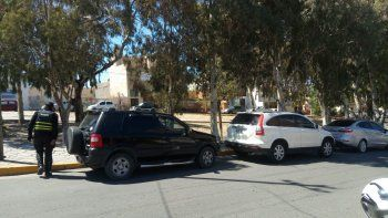 Labraron siete actas por estacionar en el bulevar de Alsina
