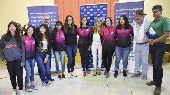 La gobernadora Alicia Kirchner presidió el acto de entrega de créditos correspondientes a la línea Produce Santa Cruz.