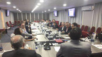 La reunión de ministros provinciales de Economía en la Comisión Federal de Impuestos.