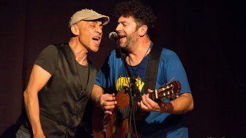 Titín Naves y Palo Pandolfo juntos en concierto