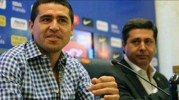 Riquelme se defendió de las acusaciones de Maradona y Angelici