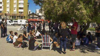 En Puerto Madryn el colectivo de docentes autoconvocados anunció que continuará con medidas de fuerza.