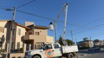 corte de luz en cuatro barrios de comodoro
