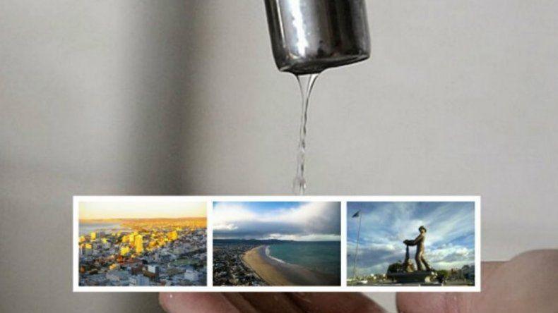 Comenzó el corte de agua en Comodoro, Rada Tilly y Caleta
