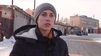 El niño de 16 años Vyacheslav Doroshenko.