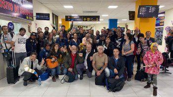 delegacion argentina encabezada por grabois fue demorada