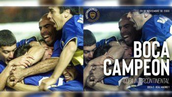 Boca borró a Riquelme del recuerdo de la Copa Intercontinental