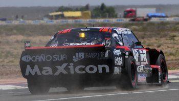 Marcelo Agrelo cronometró ayer el 19° tiempo en el autódromo de Centenario.