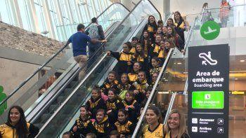 Infantiles de Náutico Rada Tilly en encuentro nacional