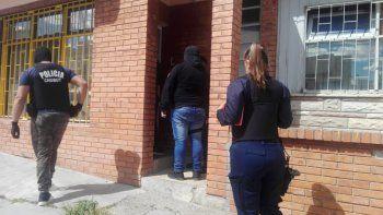 Allanamientos por violencia familiar terminó con secuestro de droga