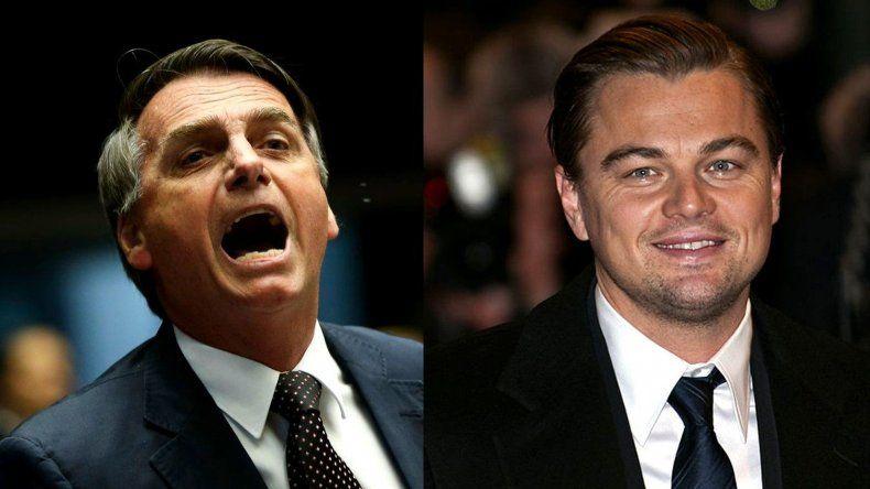 Leonardo DiCaprio le respondió a Bolsonaro