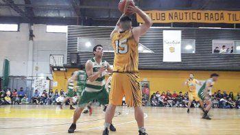 Náutico Rada Tilly le ganó por un punto de diferencia a Petroquímica y llegó a la final del torneo Clausura de básquetbol.